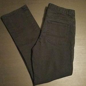 Arizona Boys Black Stretch Jeans - Husky size